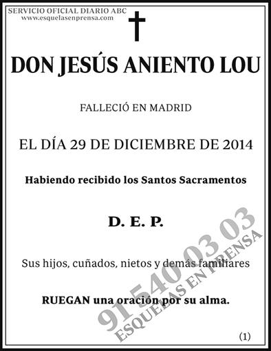 Jesús Aniento Lou
